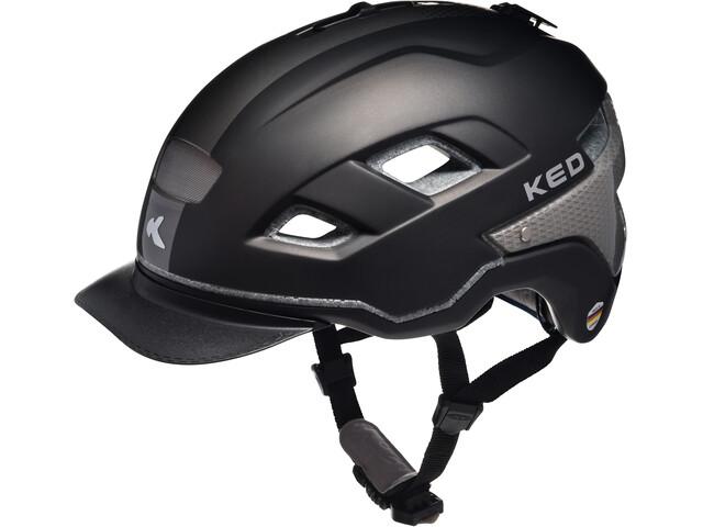 KED Berlin Helmet Black Anthracite